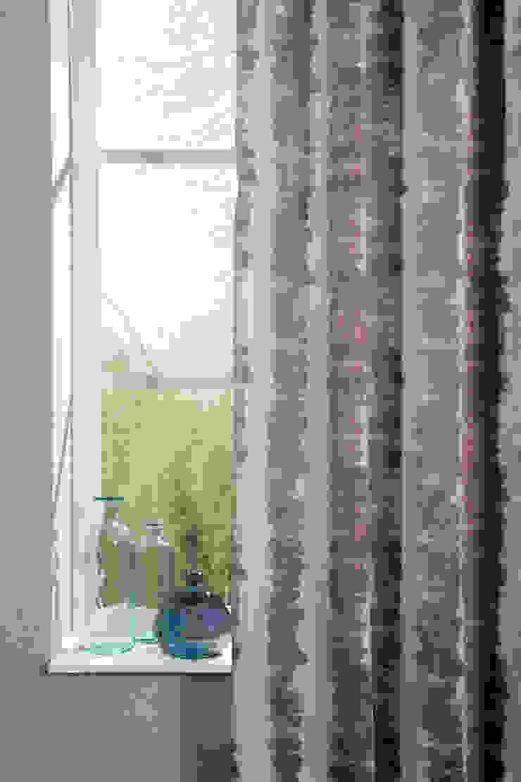 Indes Stoff Painting Stripe 4257-23 ice Indes Fuggerhaus Textil GmbH Fenster & TürGardinen und Vorhänge
