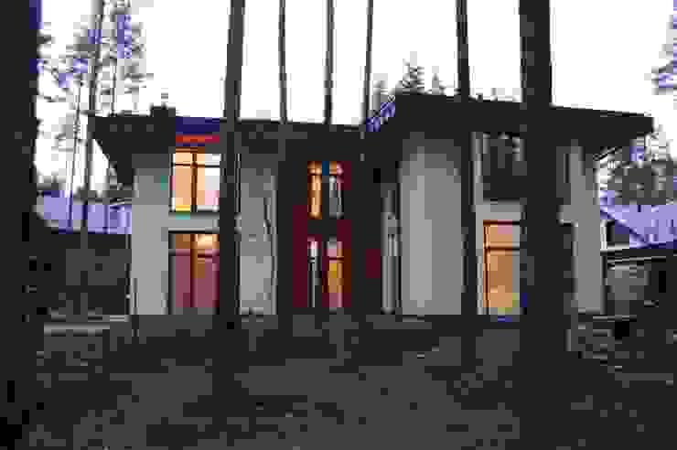 Модерн под Райта в Белоострове Дома в классическом стиле от АРХ студия Антона Никитина Классический