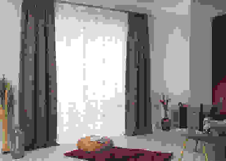 Dekostoff Manson 4270-24 und Matt 4271-09 Indes Fuggerhaus Textil GmbH Fenster & TürGardinen und Vorhänge