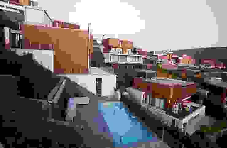 Murat Süter Villa Modern Bahçe A-Mimarlık İnşaat Sanayi ve Tic. Ltd. Şti. Modern