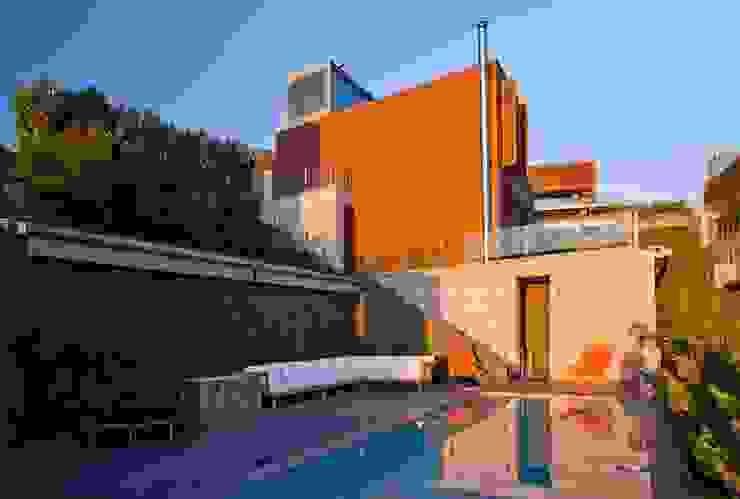 Murat Süter Villa Modern Havuz A-Mimarlık İnşaat Sanayi ve Tic. Ltd. Şti. Modern