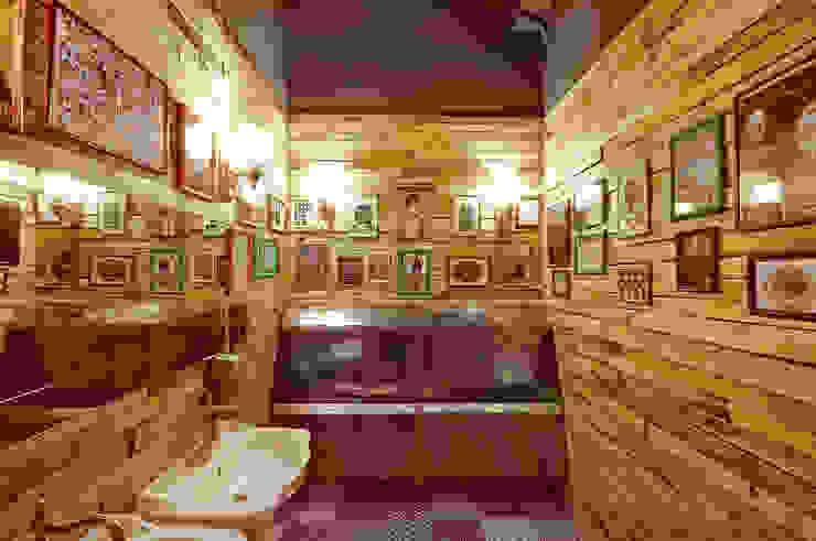 FABRIKAKUHNI - Russian avant-garde restaurant with an English accent. Photo report from ALLARTSDESIGN Ванная в стиле лофт от ALLARTSDESIGN Лофт