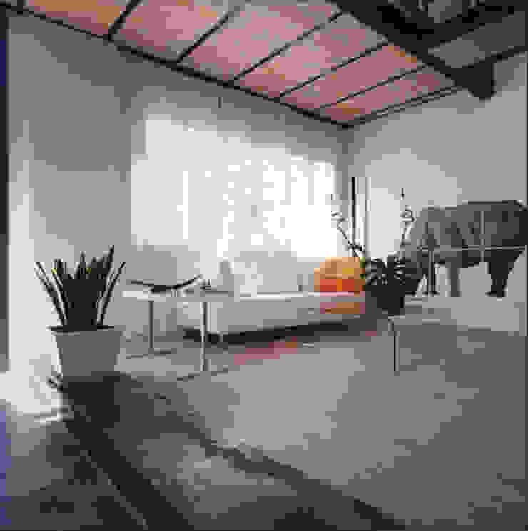 loft gemelli Soggiorno in stile industriale di antonio maria becatti architetto Industrial