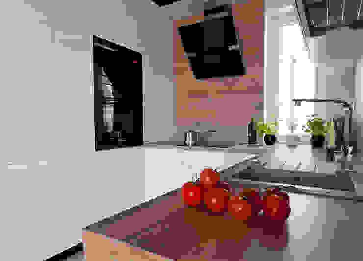 kuchnia Skandynawska kuchnia od ap. studio architektoniczne Aurelia Palczewska-Dreszler Skandynawski