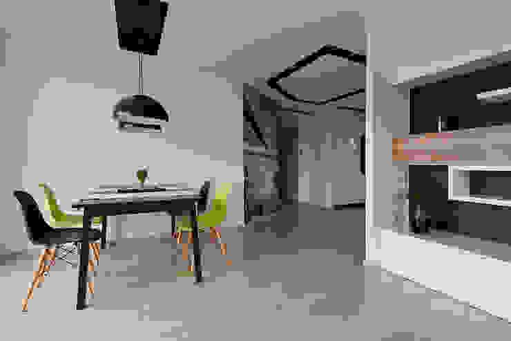 jadalnia Skandynawska jadalnia od ap. studio architektoniczne Aurelia Palczewska-Dreszler Skandynawski