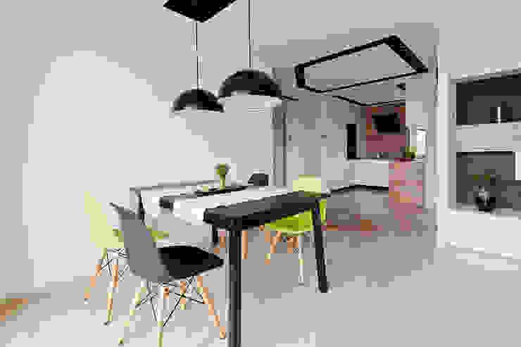 jadalnia: styl , w kategorii Jadalnia zaprojektowany przez ap. studio architektoniczne Aurelia Palczewska-Dreszler,Skandynawski