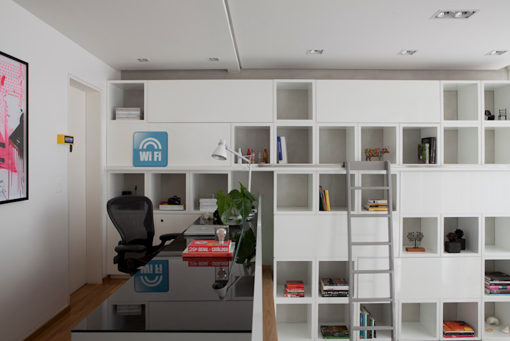 Study/office by Consuelo Jorge Arquitetos, Modern