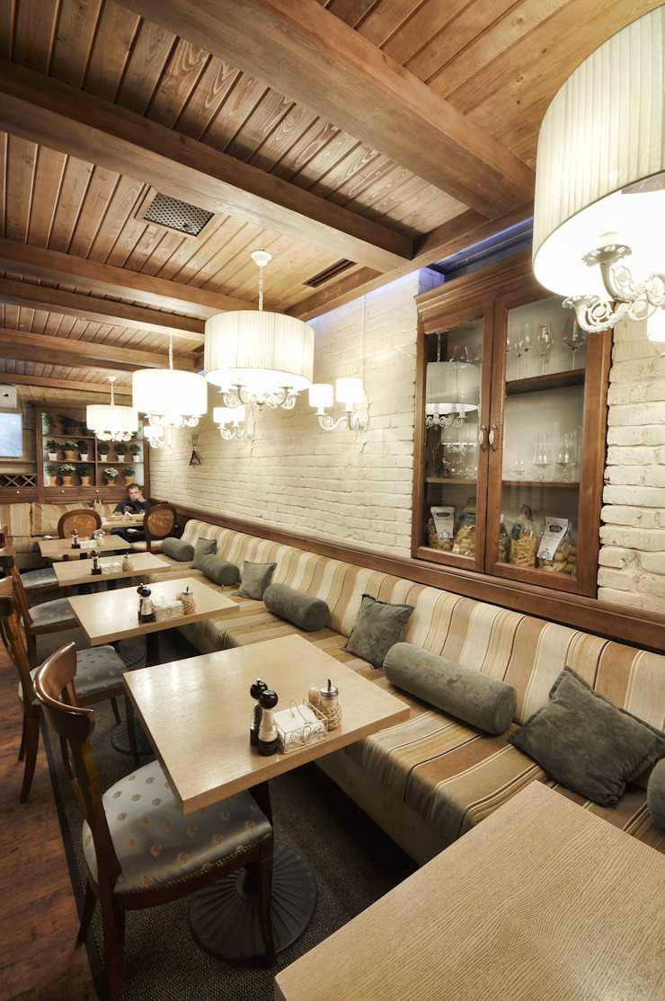 New interior for the cafe Nautilus in Perm ALLARTSDESIGN от ALLARTSDESIGN