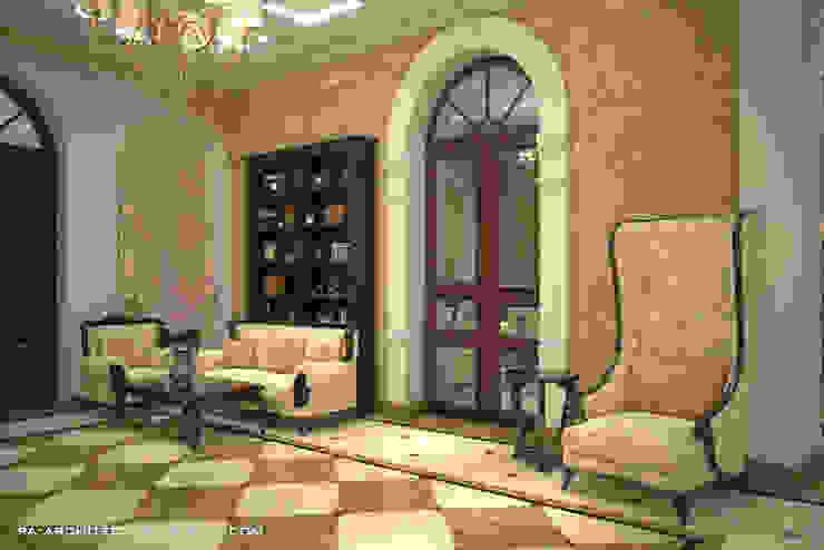 Вестибюль Коридор, прихожая и лестница в классическом стиле от Павел Авсюкевич Классический