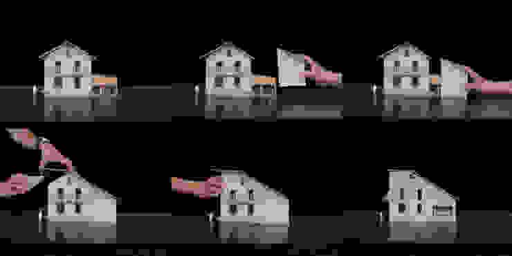 Villa Versoix par [GAA] GUENIN Atelier d'Architectures SA Moderne