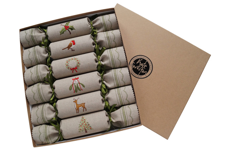 Woodland Reusable Christmas Crackers Kate Sproston Design 家居用品家庭用品