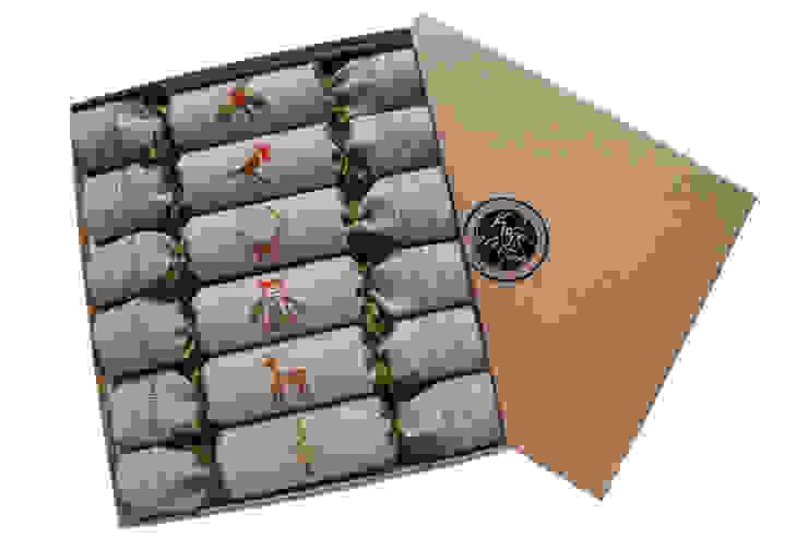 Woodland Reusable Christmas Crackers de Kate Sproston Design Rural
