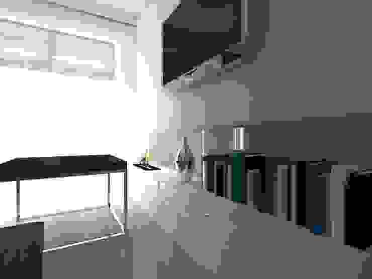 mieszkanie w Działdowie Eklektyczny salon od ap. studio architektoniczne Aurelia Palczewska-Dreszler Eklektyczny