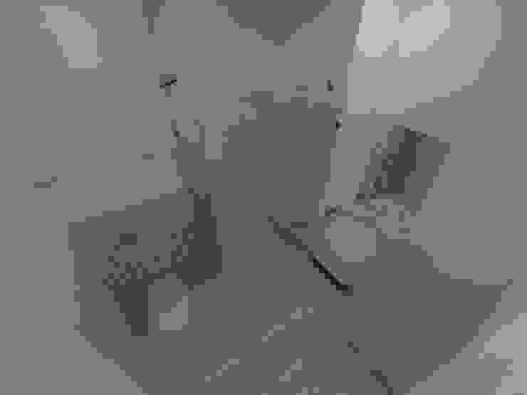 mieszkanie w Działdowie Eklektyczna łazienka od ap. studio architektoniczne Aurelia Palczewska-Dreszler Eklektyczny
