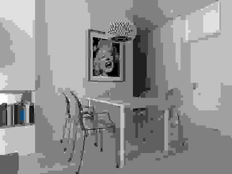 mieszkanie w Działdowie Eklektyczna jadalnia od ap. studio architektoniczne Aurelia Palczewska-Dreszler Eklektyczny