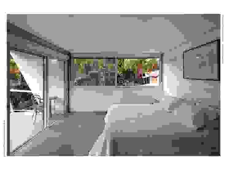 Casa FP por Joao Diniz Arquitetura Quartos modernos por JOAO DINIZ ARQUITETURA Moderno