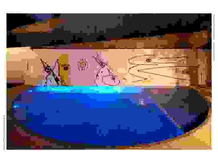 Casa FP por Joao Diniz Arquitetura Piscinas modernas por JOAO DINIZ ARQUITETURA Moderno