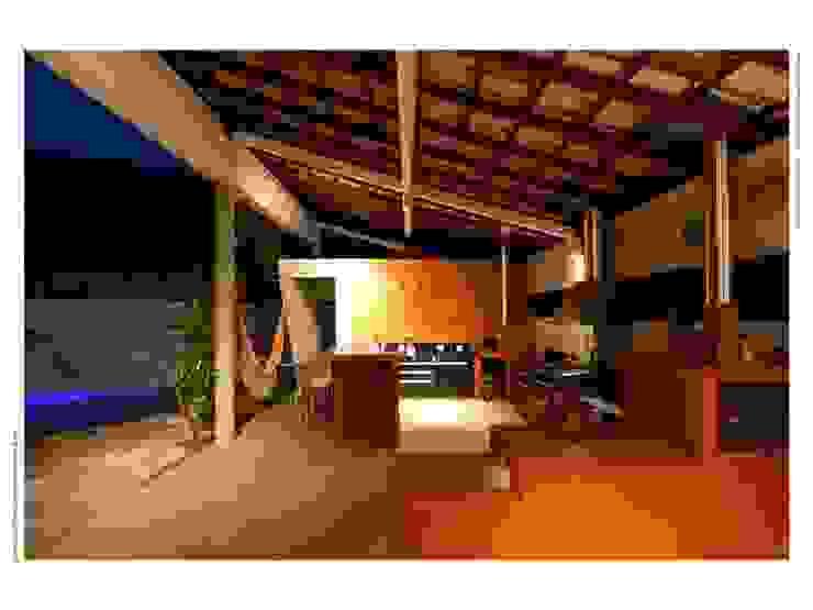 Casa FP por Joao Diniz Arquitetura Cozinhas modernas por JOAO DINIZ ARQUITETURA Moderno