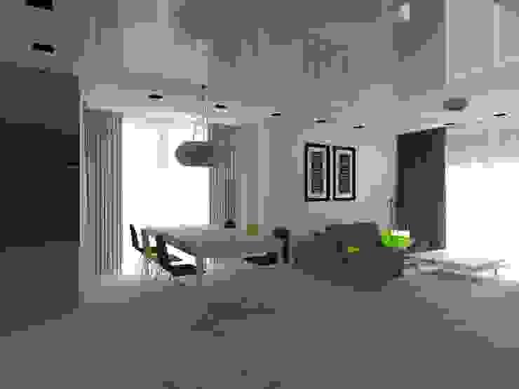 dom w Mikołajkach Pomorskich Nowoczesna jadalnia od ap. studio architektoniczne Aurelia Palczewska Nowoczesny