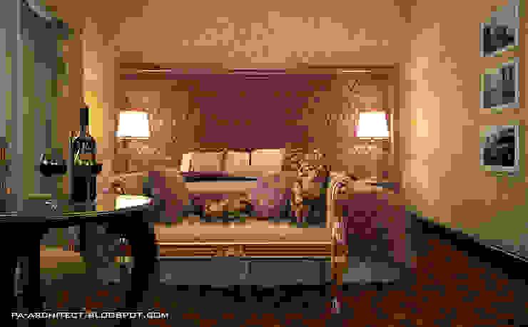 Гостиничный номер Спальня в классическом стиле от Павел Авсюкевич Классический
