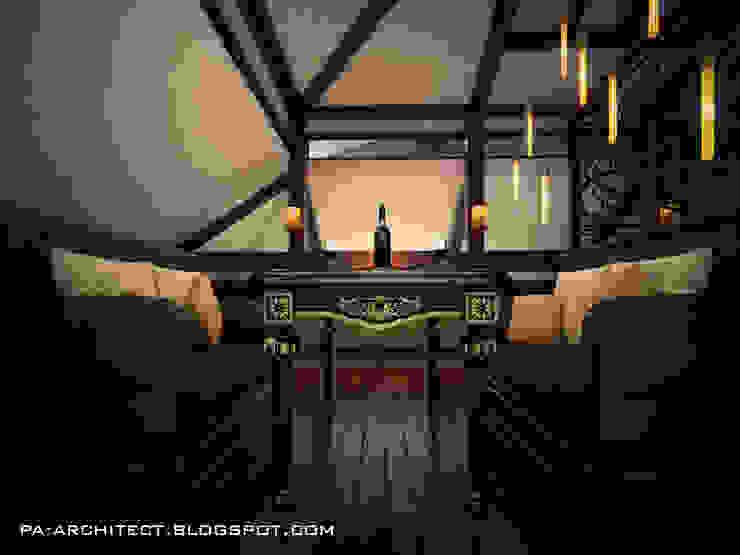 Комната звездочета Столовая комната в классическом стиле от Павел Авсюкевич Классический