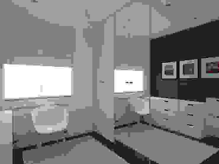 Ruang Ganti oleh ap. studio architektoniczne Aurelia Palczewska-Dreszler, Modern
