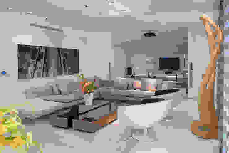 Sala de Estar | Residência SP Salas de estar modernas por Christiana Marques Fotografia Moderno