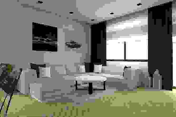 Modern Living Room by ap. studio architektoniczne Aurelia Palczewska Modern