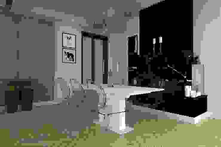 salon w Elblągu Eklektyczna jadalnia od ap. studio architektoniczne Aurelia Palczewska-Dreszler Eklektyczny