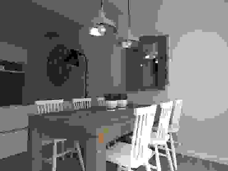 Столовая комната в стиле лофт от ap. studio architektoniczne Aurelia Palczewska-Dreszler Лофт