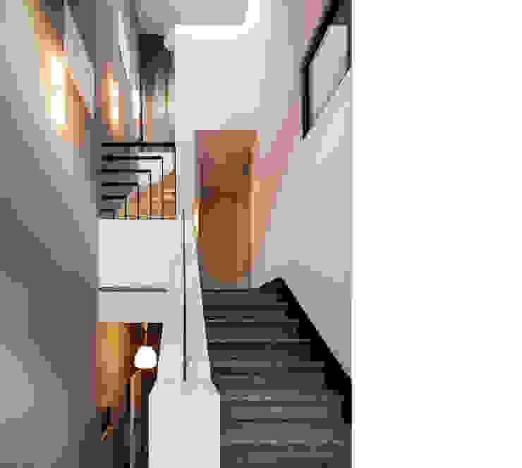 beissel schmidt architekten Modern Koridor, Hol & Merdivenler