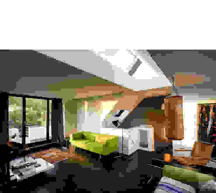 Salas de estar modernas por beissel schmidt architekten Moderno