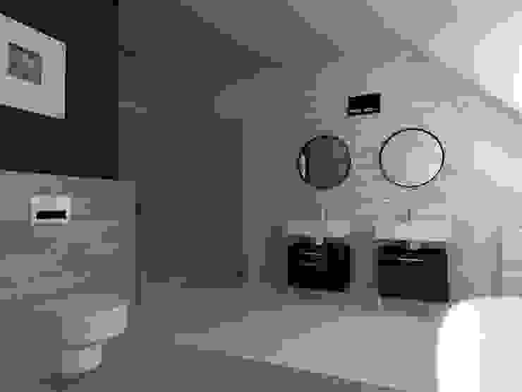 Scandinavian style bathroom by ap. studio architektoniczne Aurelia Palczewska Scandinavian