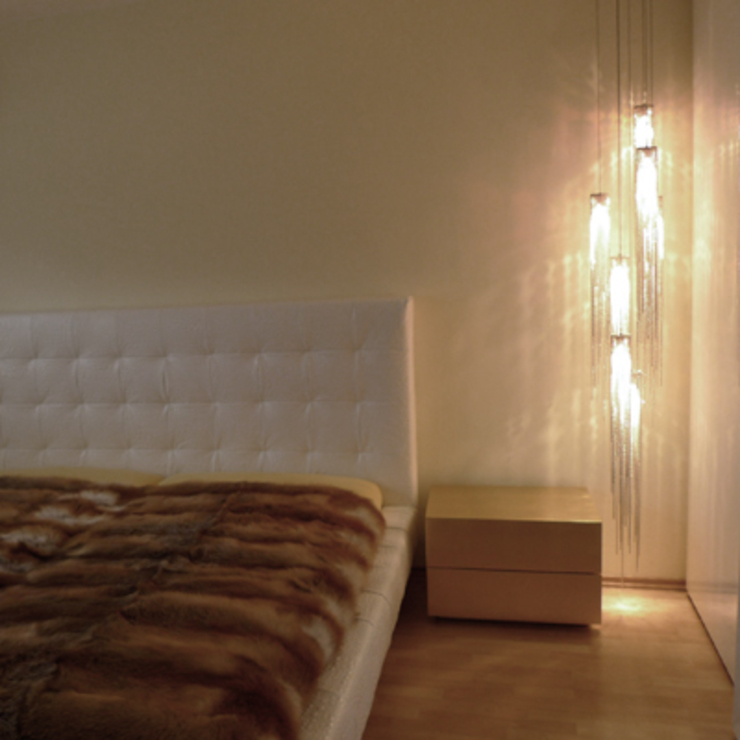 Villa Quierschied Moderne Schlafzimmer von Bolz Licht und Wohnen 1946 Modern