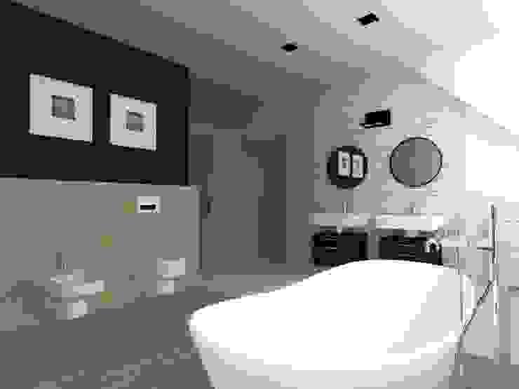 Industrial style bathroom by ap. studio architektoniczne Aurelia Palczewska Industrial