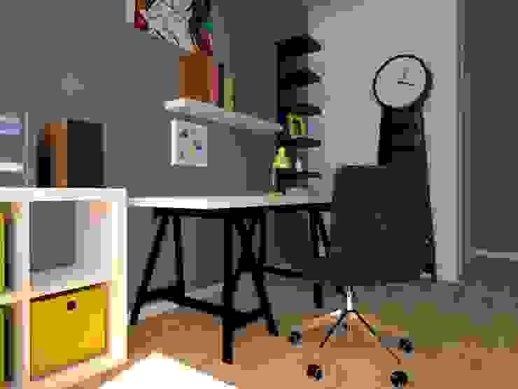 ap. studio architektoniczne Aurelia Palczewska Oficinas de estilo industrial