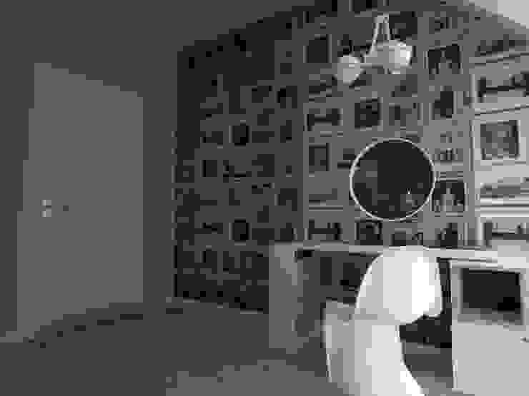 ap. studio architektoniczne Aurelia Palczewska Cuartos de estilo escandinavo