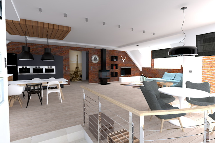 by ap. studio architektoniczne Aurelia Palczewska Industrial