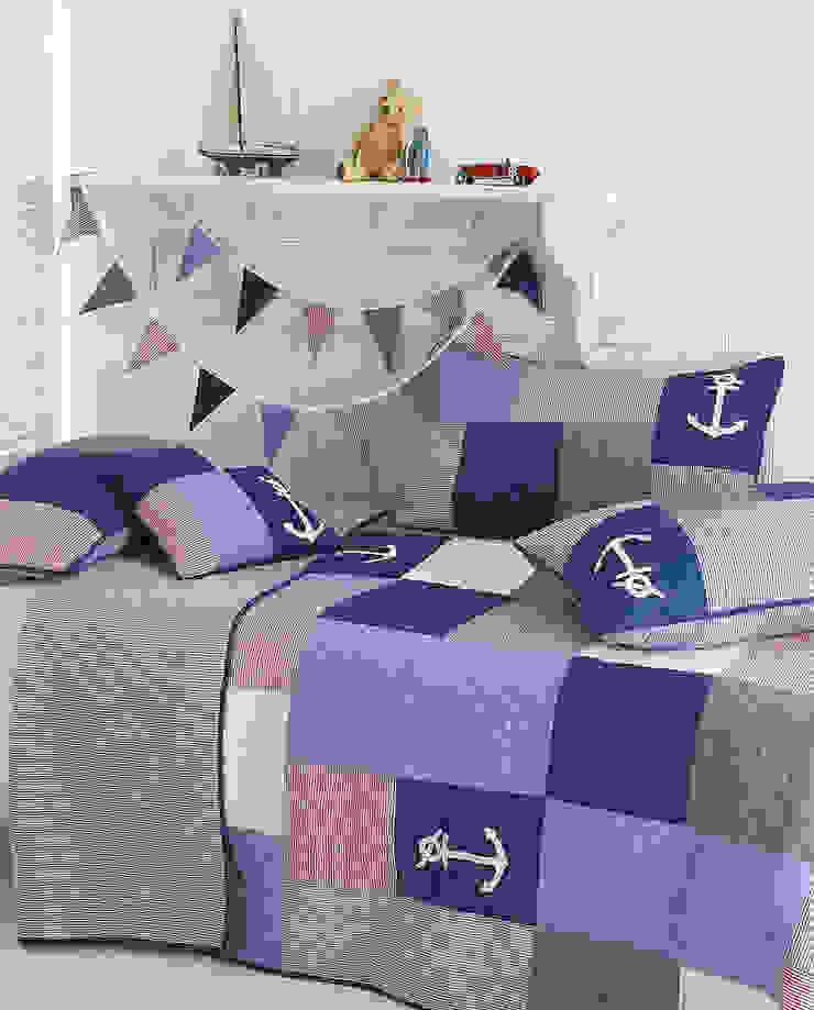 Sidmouth Patchwork Bedspread: modern  by Marquis & Dawe, Modern