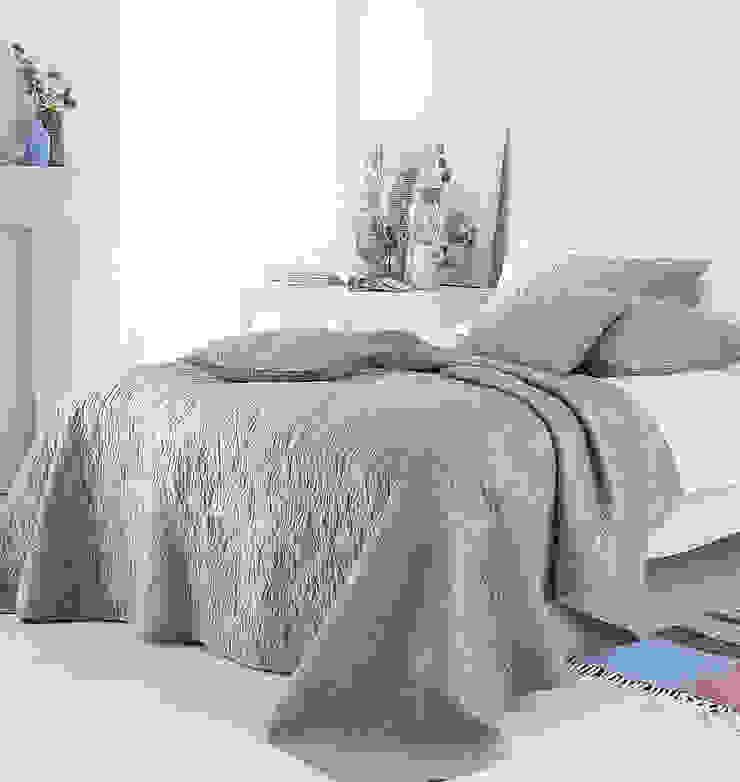 Riviera Embroidered Bedspread: modern  by Marquis & Dawe, Modern