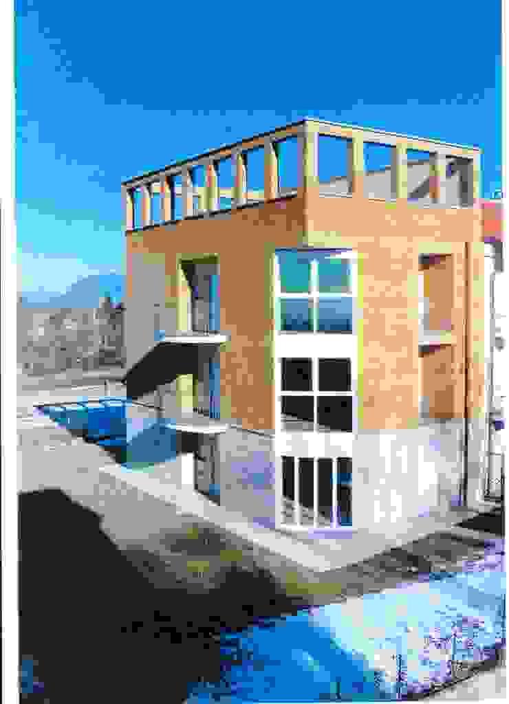 COMPLESSO RESIDENZIALE AD APPARTAMENTI Case moderne di BORGHI ARCHITECT& PARTNERS Moderno
