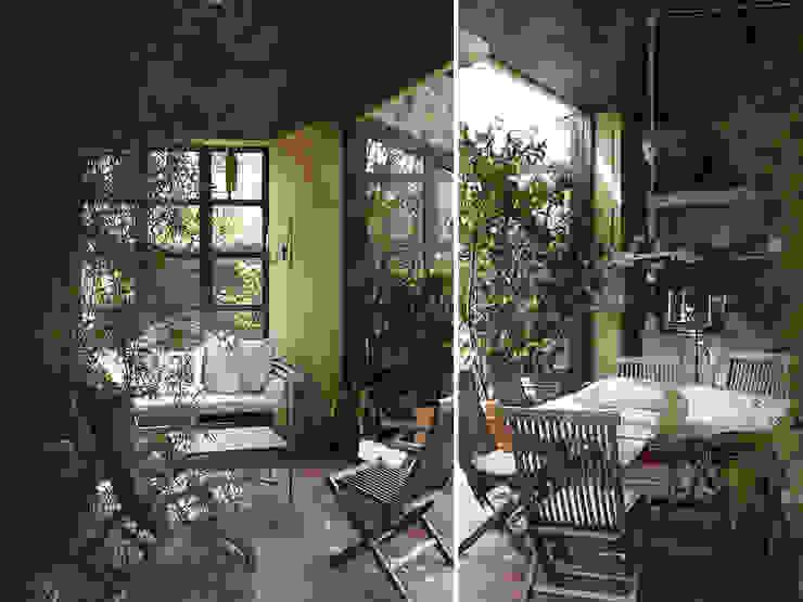 Jardines de invierno de estilo rural de Studio Maggiore Architettura Rural