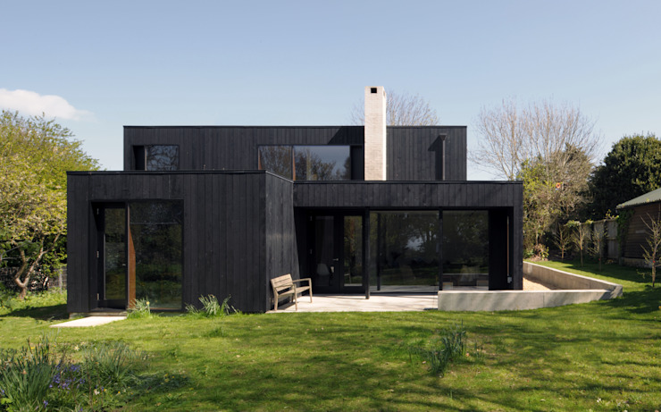 The Sett Minimalist houses by Dow Jones Architects Minimalist
