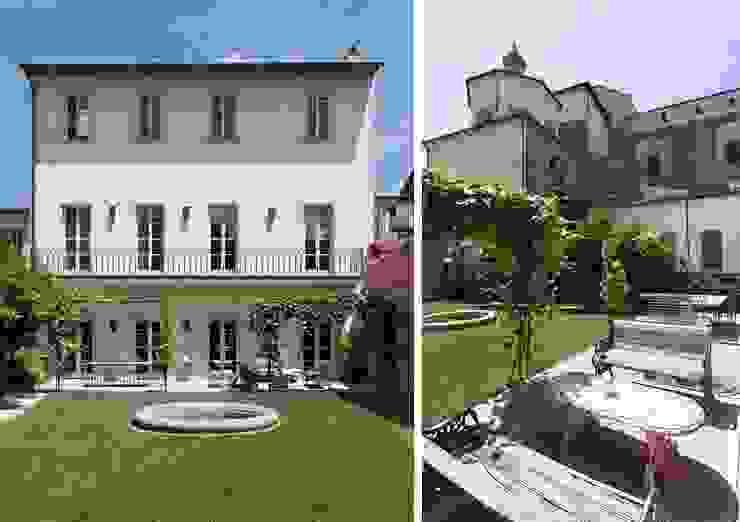 S.Monaca Townhouse Case eclettiche di Luigi Fragola Architects Eclettico