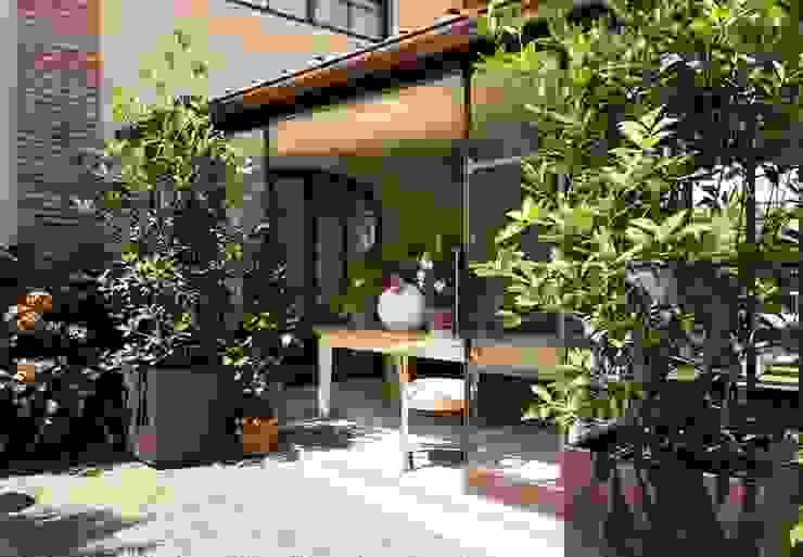 S.Monaca Townhouse Giardino d'inverno eclettico di Luigi Fragola Architects Eclettico