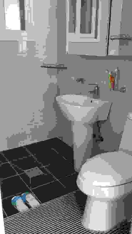 해밀건축사사무소 Minimalist style bathroom