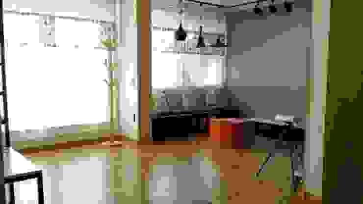 Minimalist Oturma Odası 해밀건축사사무소 Minimalist