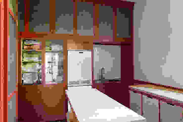 S.Monaca Townhouse Cucina eclettica di Luigi Fragola Architects Eclettico