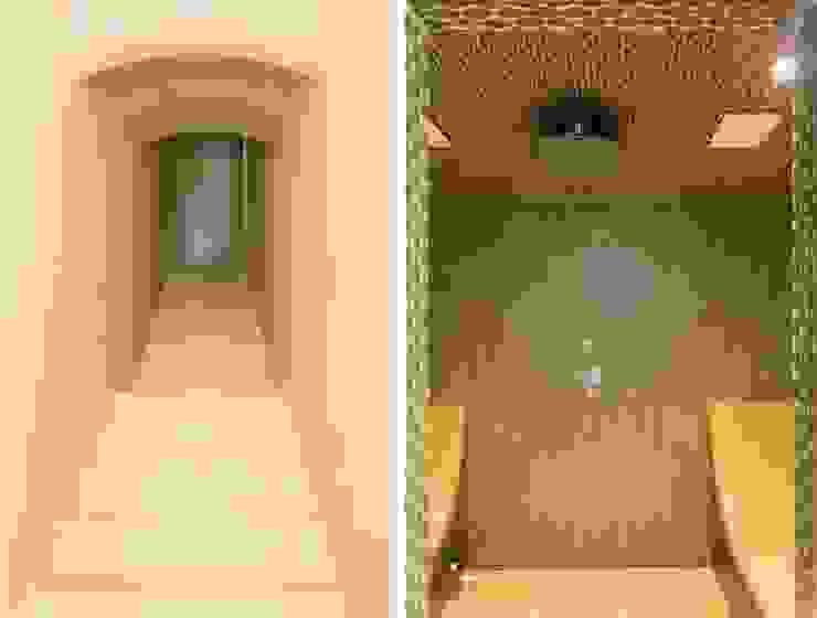 S.Monaca Townhouse Bagno eclettico di Luigi Fragola Architects Eclettico