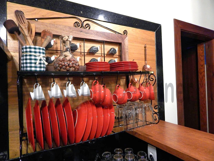 LAR DOCE LAR Cozinhas modernas por Patrick Munstein Designer Moderno